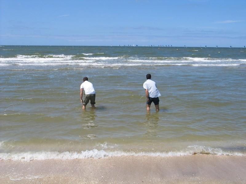 Deux face à la mer