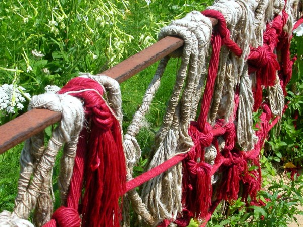 Rambarde de cordes
