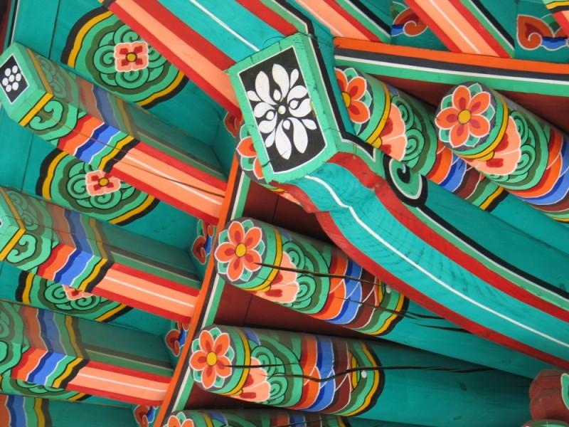 Détail d'une pagode