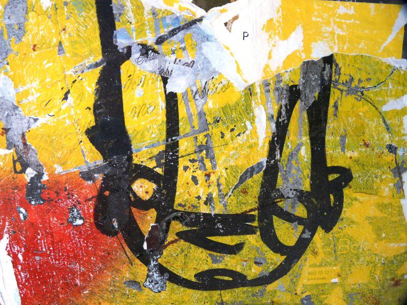 Graffiti à Barcelone