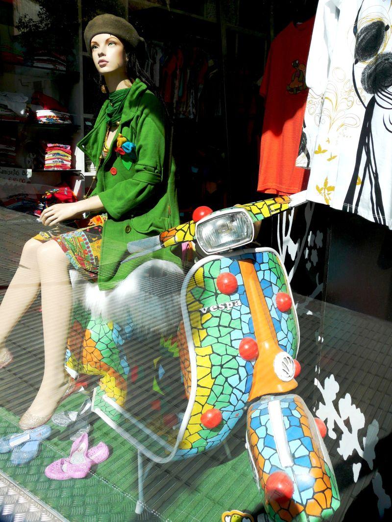 Scooter façon Salamandre à Barcelone