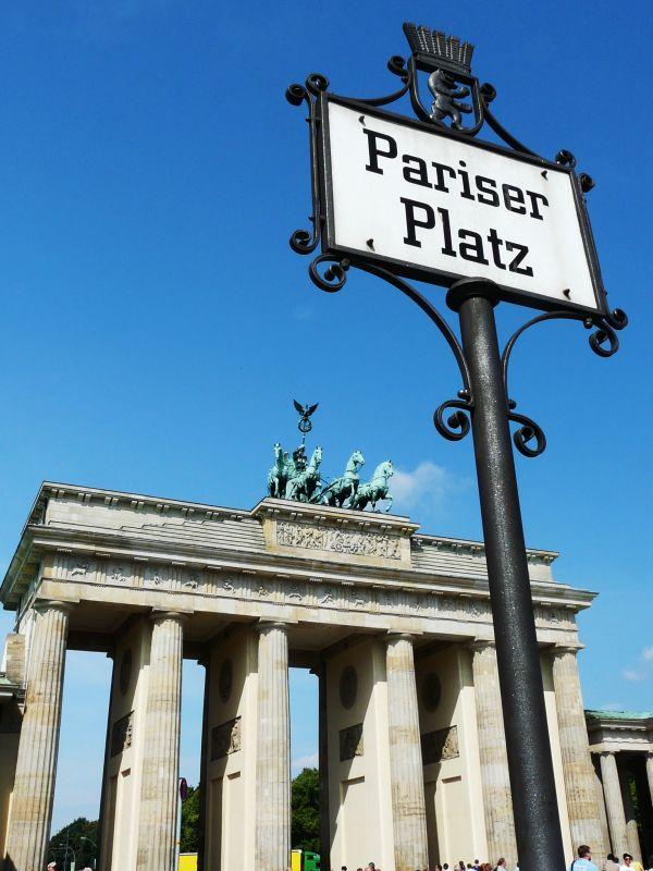 Pariser Platz et la porte de Brandebourg