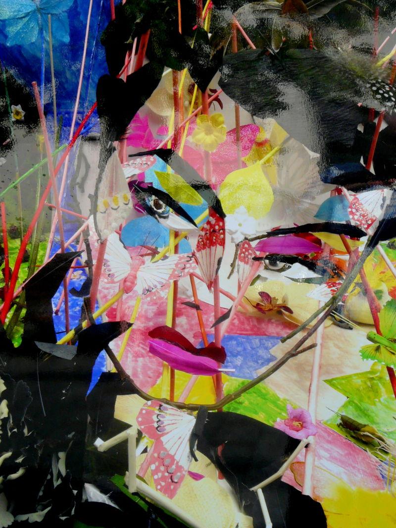 Femme en couleurs