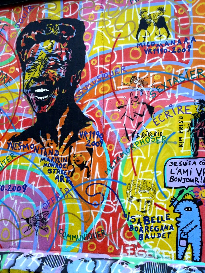 Programme du jour sur le Mur de Berlin