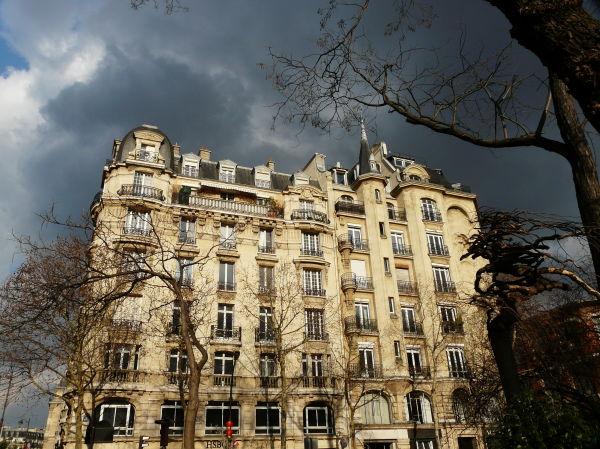 Ciel gris à Paris