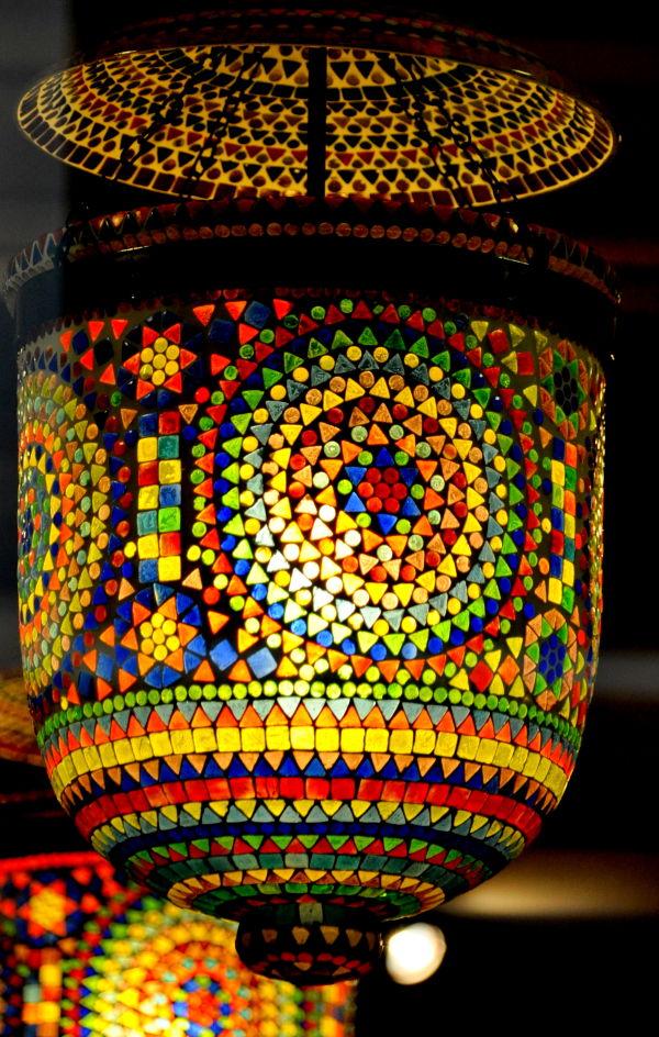 Lanterne mosaïque