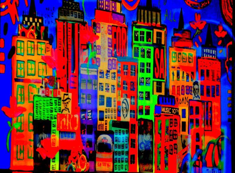 Ville en couleurs