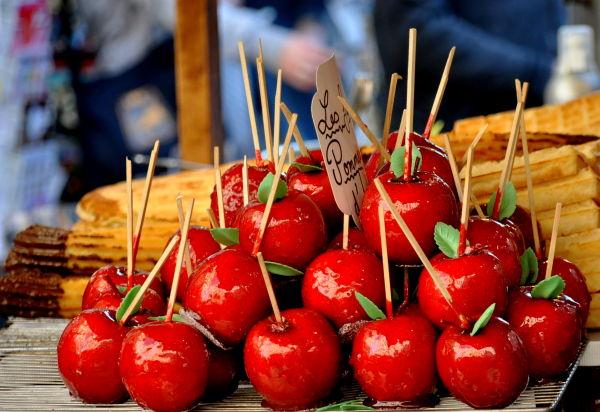Croquons la pomme d'amour