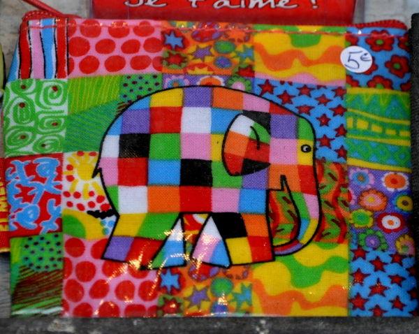 Eléphant patchwork