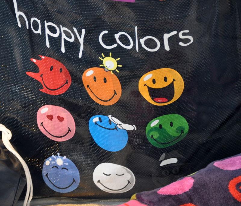 Happy colors pour cette nouvelle semaine ....