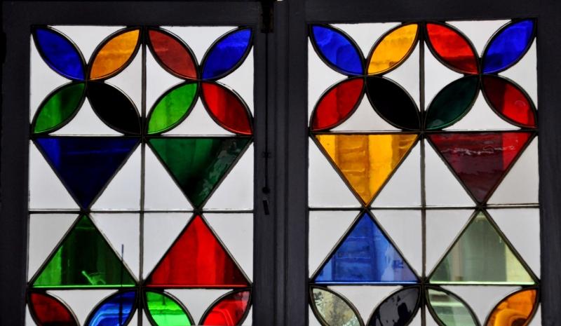 Façon vitrail