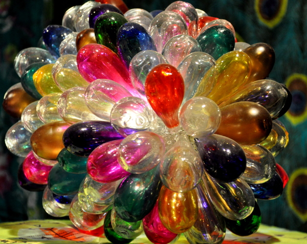 Ballons de verre