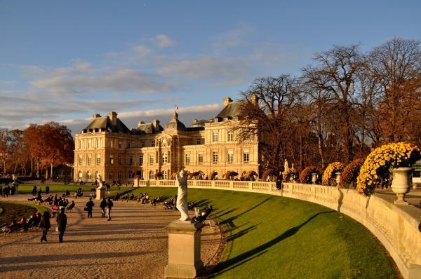 Un samedi de décembre au jardin du Luxembourg