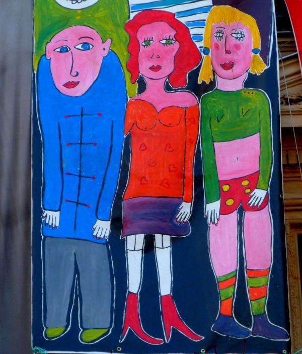 Trio coloré