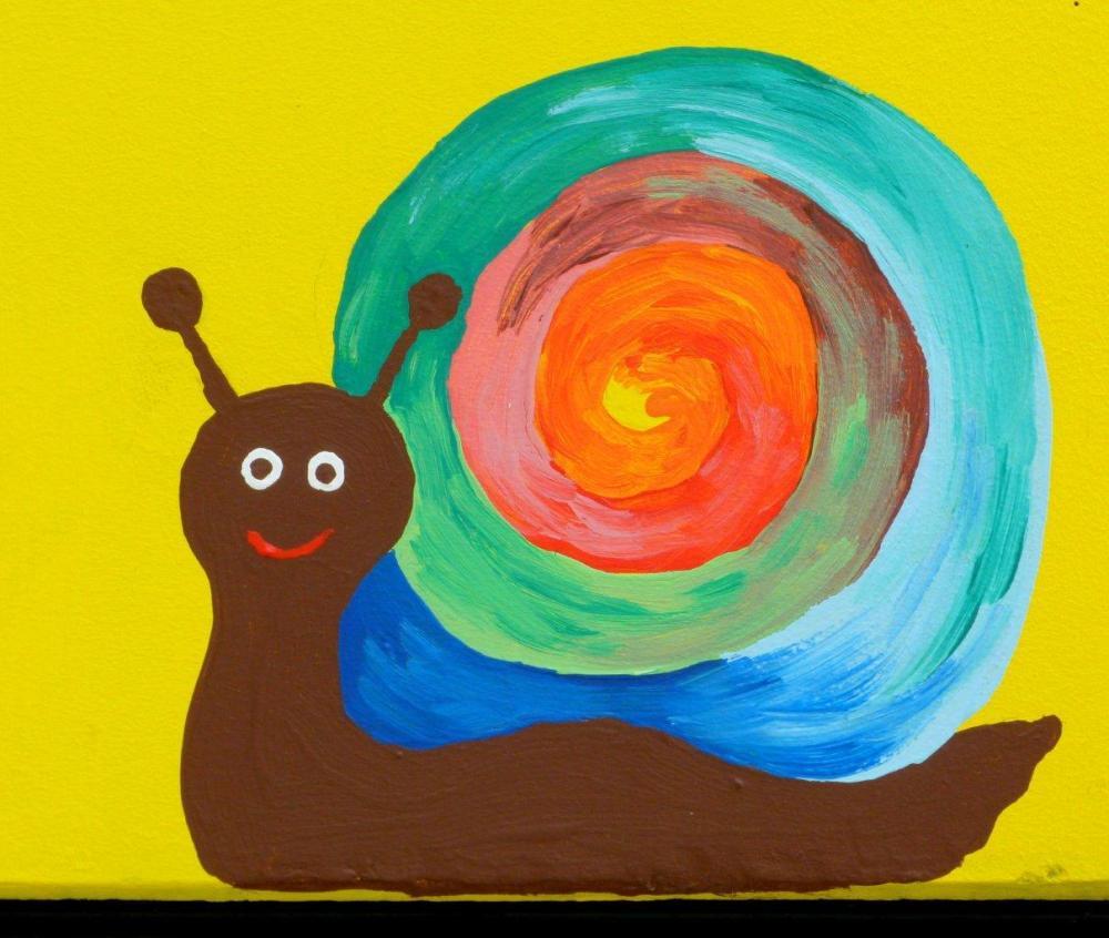 Un escargot tout chaud