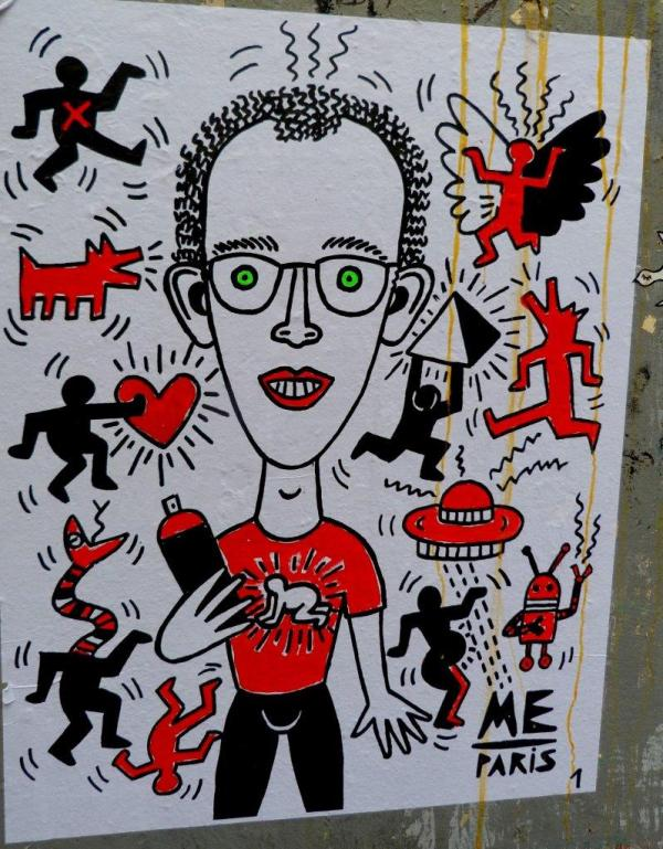 Style Keith Haring