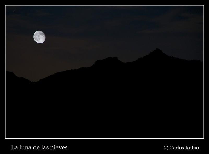La luna de las nieves