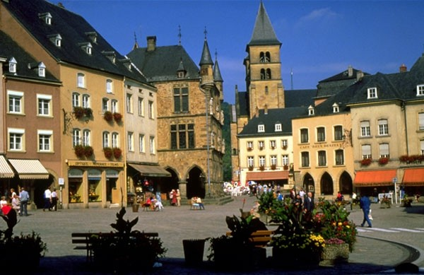 Downtown Bitburg Germany