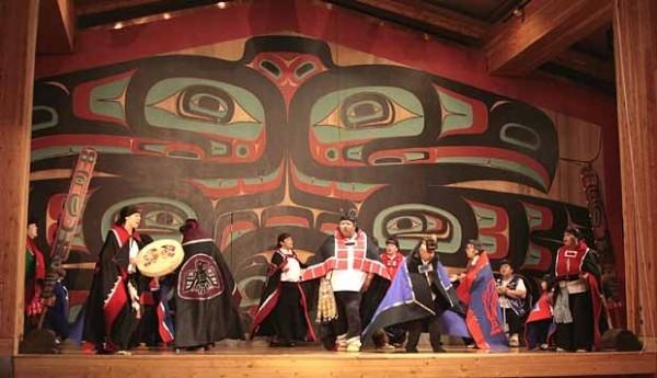 Tlingit Dancers Ketchikan Alaska