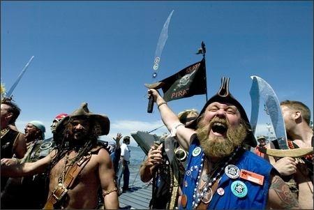 Seafair Pirates Seattle Washington