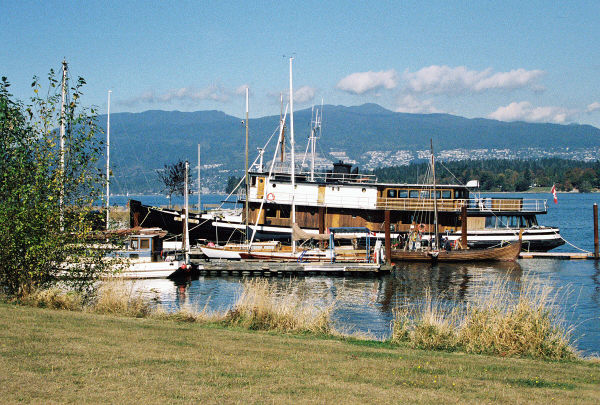 Boats at Vancouver Maritime Museum