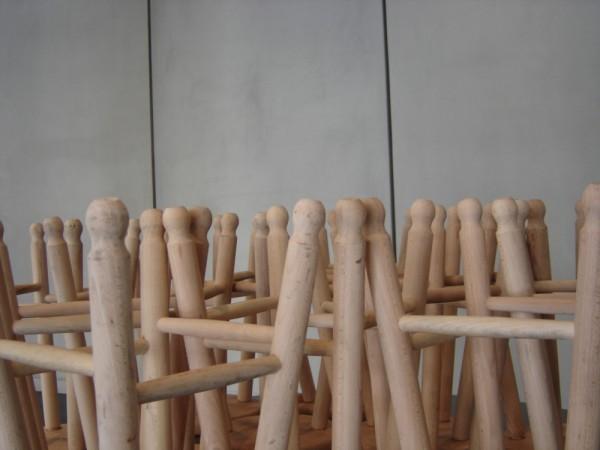 Upsidedown stools