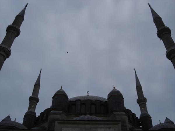 mosque edirne turkey minare