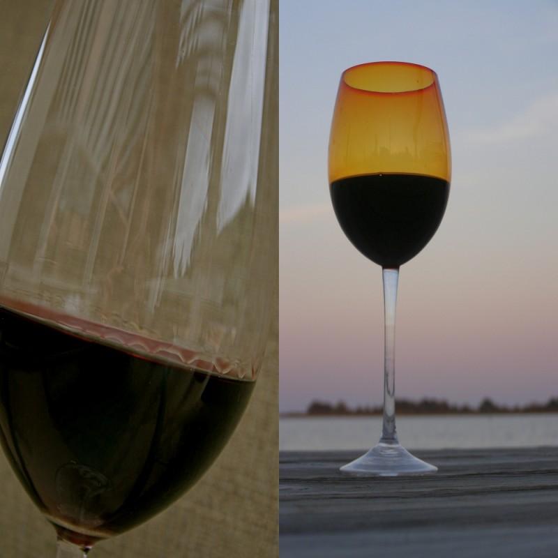 Wine Glasses Side by side