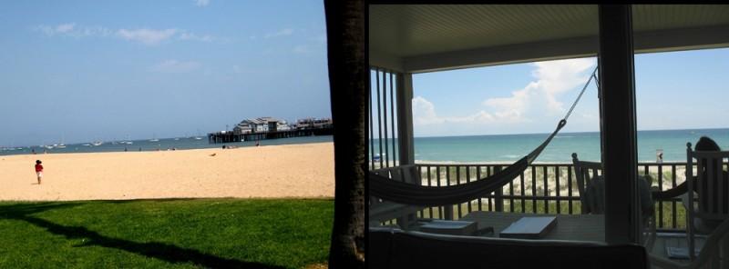 view, beach, california, north carolina, coast,