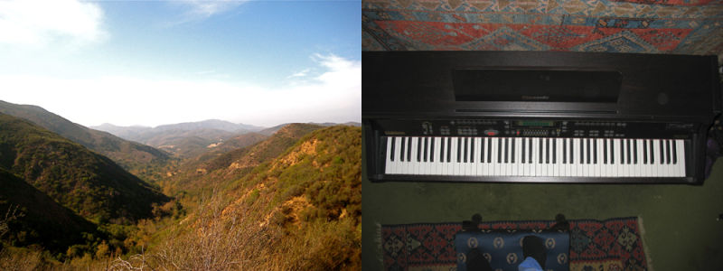 Wide, Wildnerness, canyon, open space, Keyboard