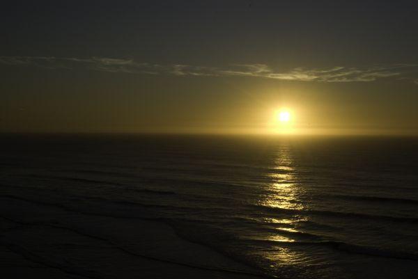 Sunset, Ocean Beach