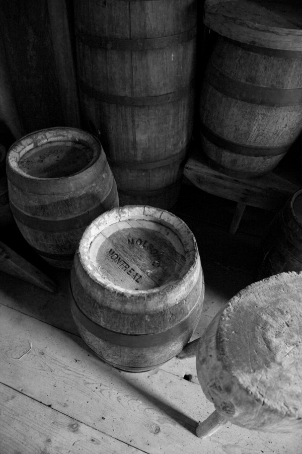 Molson Brewery keg in Upper Canada Village