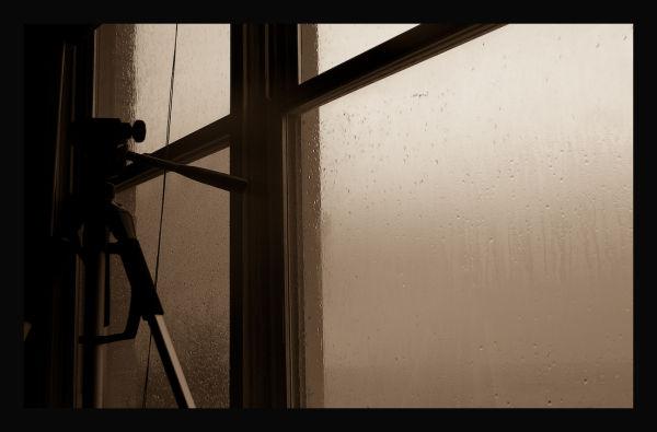 One rainy morning