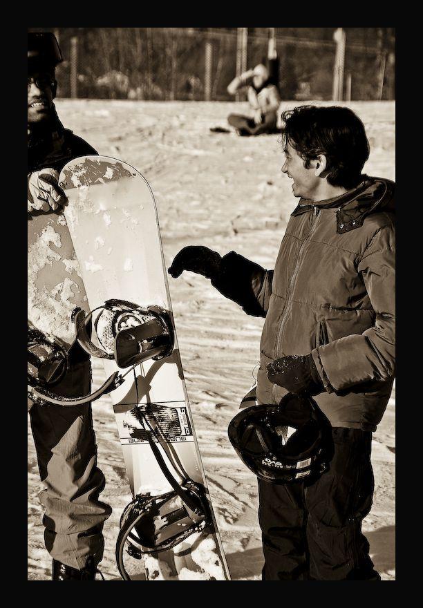 Tiring, Tasking, Testing, Skiing!!