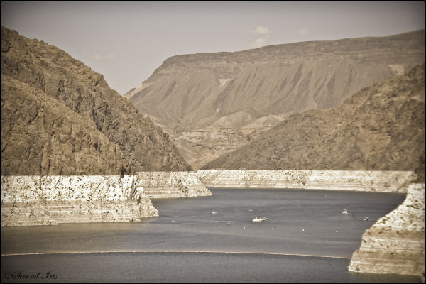 Hoover Dam upstream