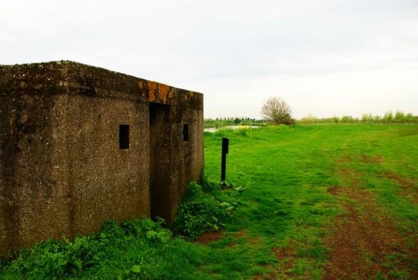 A riverside WWII bunker...