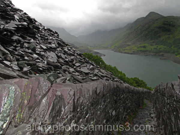 Dinorwic quarries Llanberis