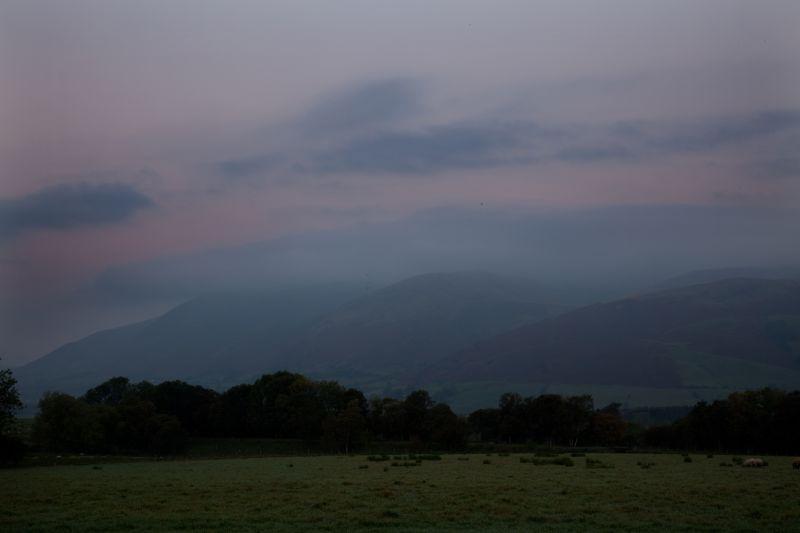 hill fog