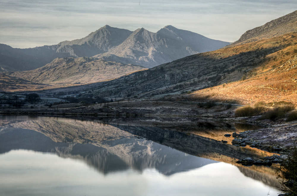 Closer look at Snowdon horseshoe