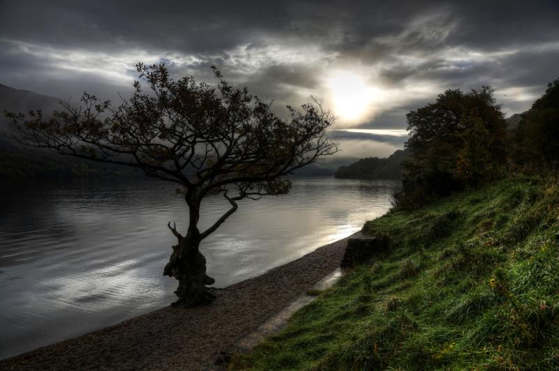 Loch Lomond morning 1