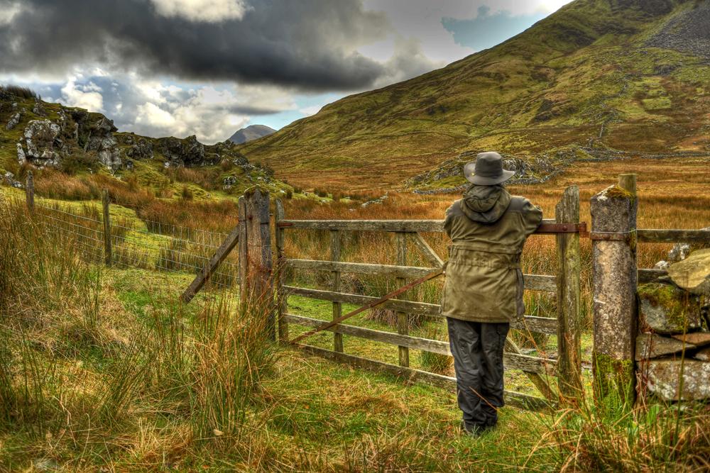 A farmers view