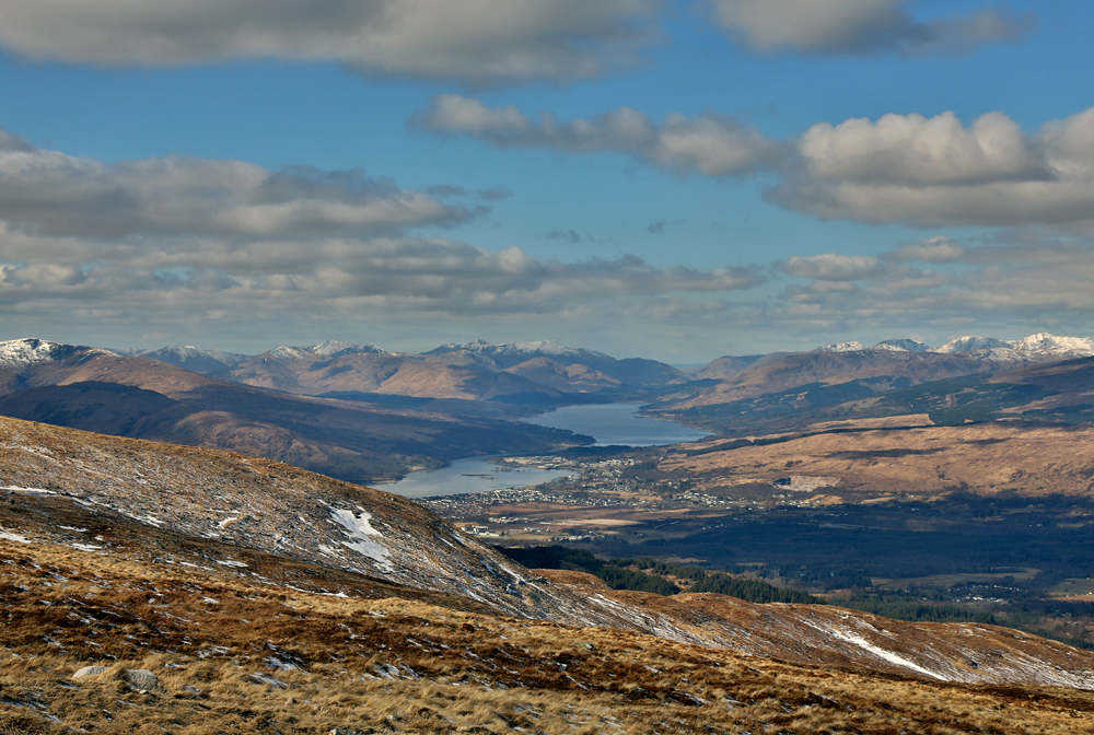 View over Fort  William