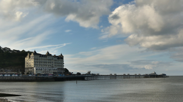 Hotel by the pier
