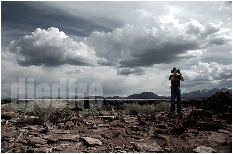 """""""robert block"""" in the painted desert, arizona"""