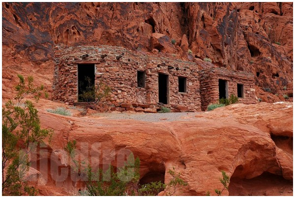 fdr era building, valley of fire