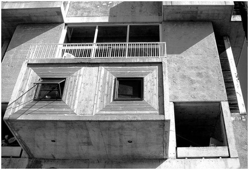 concrete windows