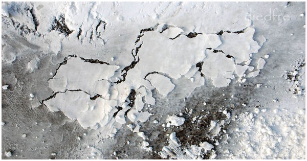 arctic landmass