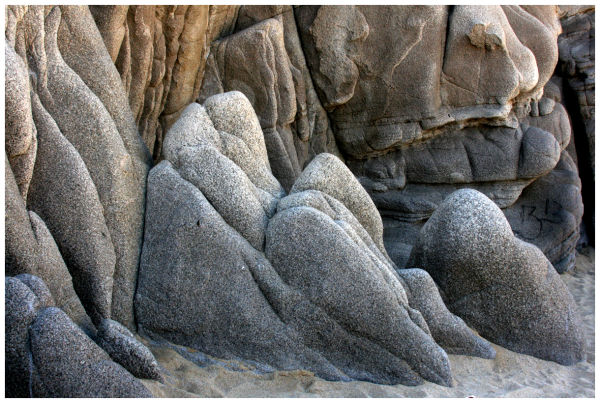 granite rocks formation by nature