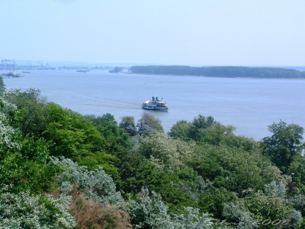 Small boat on the danube