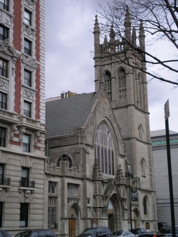 Cathedral in New York City